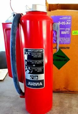 New Purple K Ansul RED LINE Fire Extinguisher, Type II Class