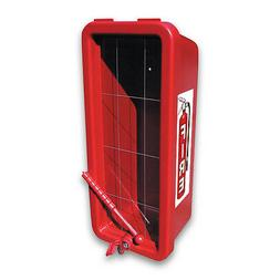 Red CATO 105-10RRC-H Chief Fire Extinguisher Cabinet for 10l
