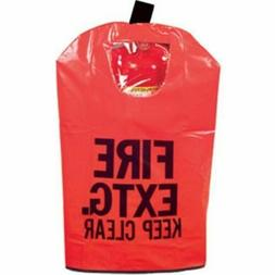 RED Fire Extinguisher Cover with Window