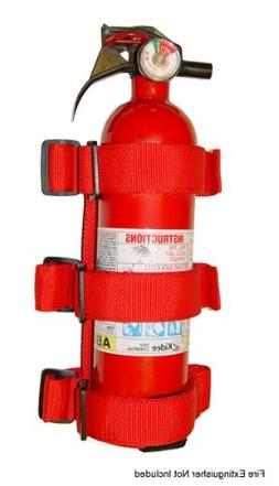 Roll Bar Fire Extinguisher Holder for all Jeeps with Roll Ba