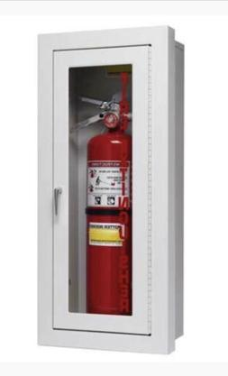Potter Roemer Semi-Recessed Fire Extinguisher Cabinet