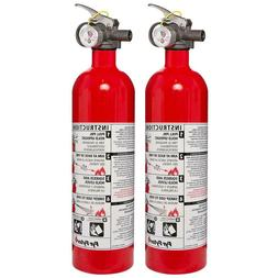Small Emergency 5-B: C Rated Disposable Fire Extinguisher  |