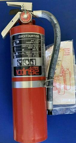 ANSUL SENTRY SY-0516 FIRE EXTINGUISHER  250 PSI 9 LBS 3 OZ.