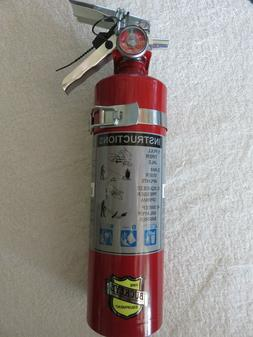 "TWO-NEW 2020 ""BUCKEYE"" 2 1/2lb ABC FIRE EXTINGUISHER W/VEHIC"