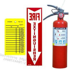 Victory 2 1/2 Lb. Type ABC Dry Chemical Fire Extinguisher, w